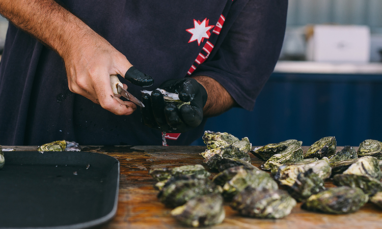 The Oyster Festival Is Coming To The Sandstone Point Hotel